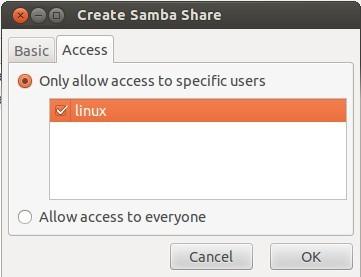 ubuntu安装samba方法