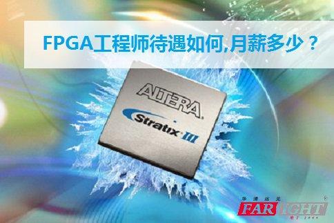 FPGA工程师月薪